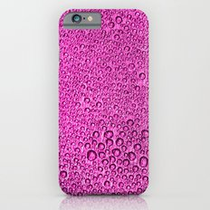 Water Condensation 05 Purple iPhone 6s Slim Case