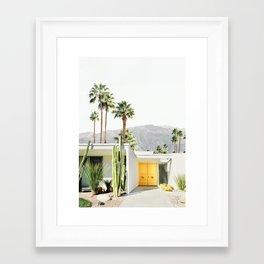 Palm Springs II Framed Art Print