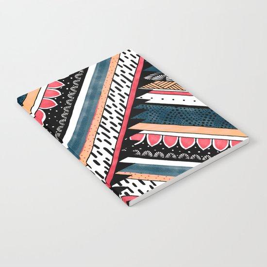 Tribal Geometric Chevron Notebook