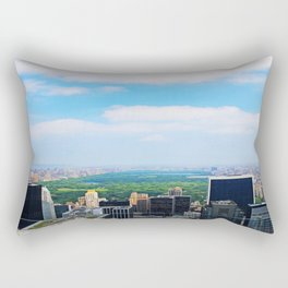 Central Park Rectangular Pillow