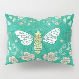 Bee Garden Pillow Sham