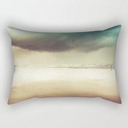 Ocean Solitude Rectangular Pillow