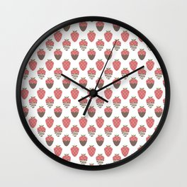 Strawberry indulgence  Wall Clock
