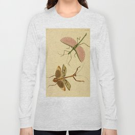 Naturalist Stick Bugs Long Sleeve T-shirt