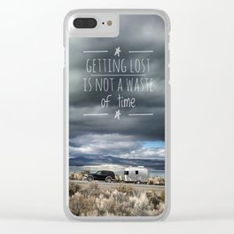 Getting Lost Clear iPhone Case