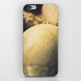 If I Could Travel The World iPhone Skin