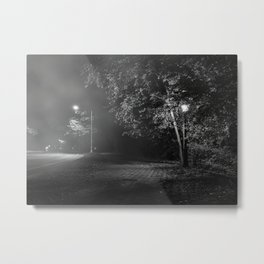 On The Streets Of New York At Night, New York City (2020-10-GNY-240) Metal Print