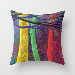My favorite trees Throw Pillow