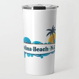 Carolina Beach - North Carolina. Travel Mug