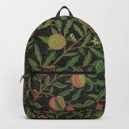 "William Morris ""Fruit or Pomegranate"" 8. Backpack"