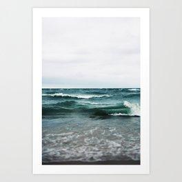 Turquoise Sea #2 Art Print