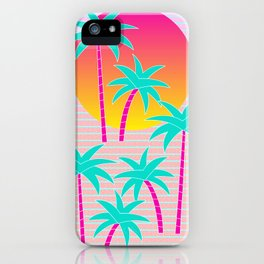 Hello Miami Sunset iPhone Case
