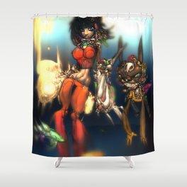 Kinetastar Shower Curtain