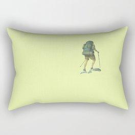 Backpacking: Solitude Rectangular Pillow