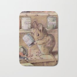 Naughty little mouse! Bath Mat