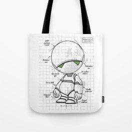 Marvin Plan Tote Bag