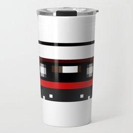 Red Cassette Travel Mug