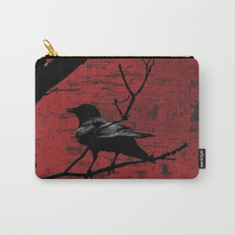 Crow Rust Industrial Red A673 Carry-All Pouch