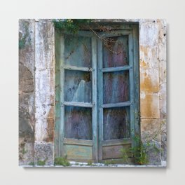 Abandoned Sicilian House in Noto Metal Print