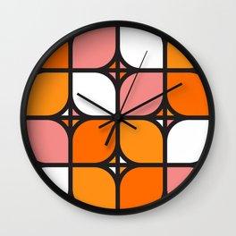 Alcorn Clover Wall Clock
