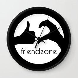 Friendzone Wall Clock