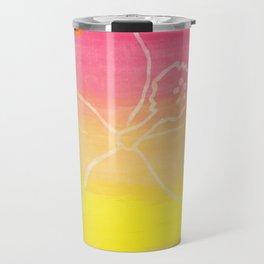 Hibiscus Fantasy Travel Mug