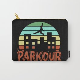 Parkour - Retro  Free Running Carry-All Pouch