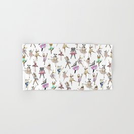 Animal Ballet Hipsters LV Hand & Bath Towel