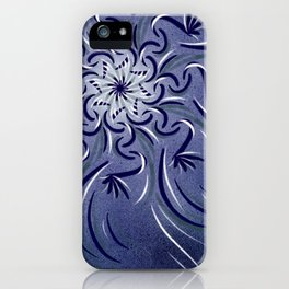 Lavender Flourish iPhone Case
