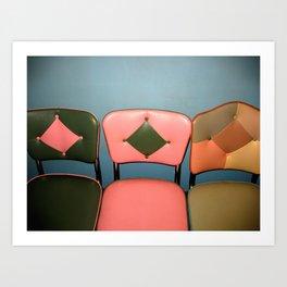 take a seat! Art Print