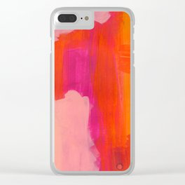 Colors of Love Clear iPhone Case
