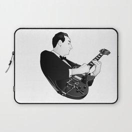 LES PAUL House of Sound - BLACK GUITAR Laptop Sleeve