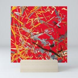 chaos structure Mini Art Print