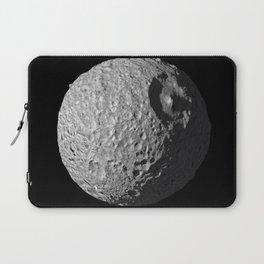 Mimas Saturn's Moon HD - AKA The Real Death Star Laptop Sleeve