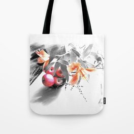 apples and lilies Tote Bag