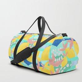 Pink Lemonade - Shapes and Layers no.32 Duffle Bag