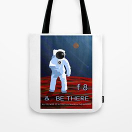 f8 & Be There Tote Bag
