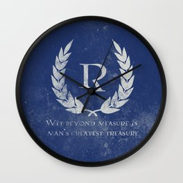 Wit beyond Measure Wall Clock