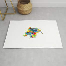 Colombia Map Rug