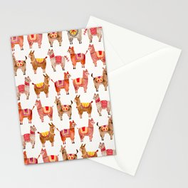 Alpacas Stationery Cards