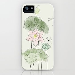 Pond of tranquility iPhone Case