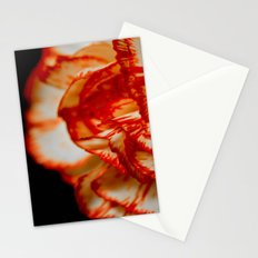 Floating on Black Stationery Cards