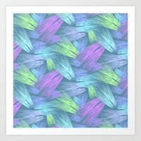 grass Art Prints featuring Grass by Emma Vallee Callinan