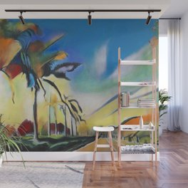 Palm Road Wall Mural