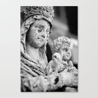 madonna Canvas Prints featuring Madonna by Andrea Basile