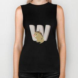 W is for Warthog Biker Tank