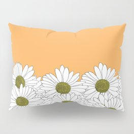 Daisy Boarder Marigold Pillow Sham