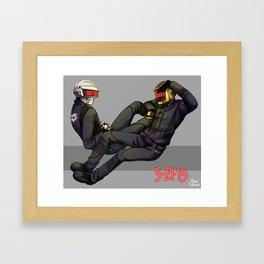 Get Lucky!! Framed Art Print