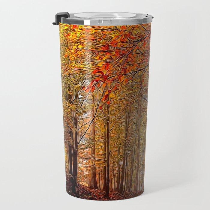 Autumn Parade Travel Mug