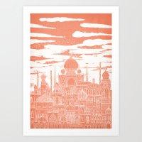 venus Art Prints featuring Venus by David Fleck